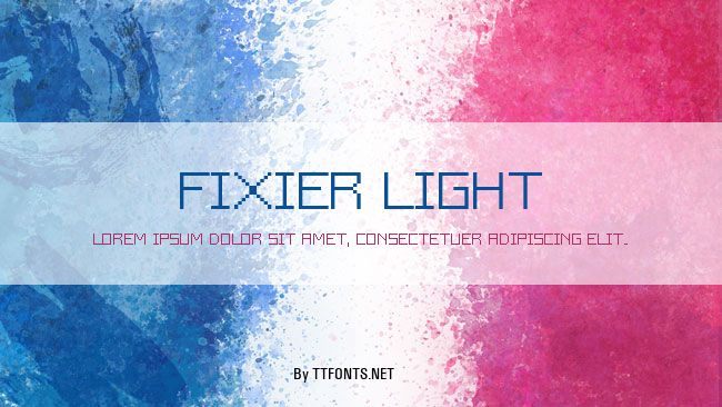 Fixier Light example