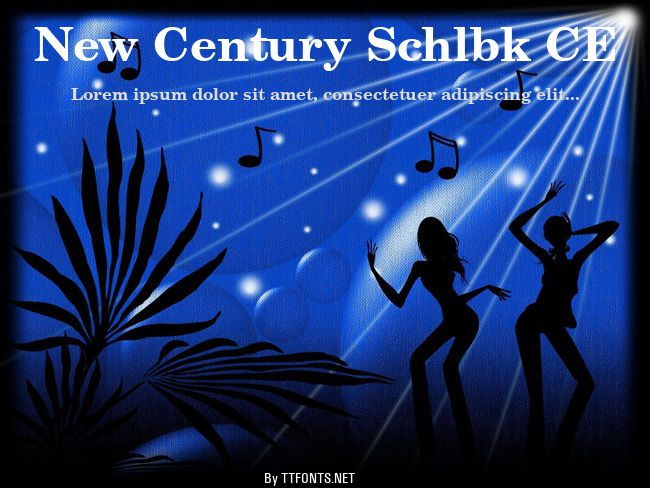 New Century Schlbk CE example