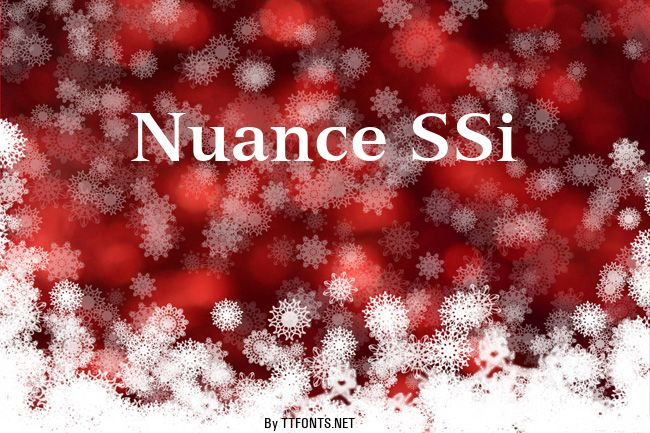 Nuance SSi example