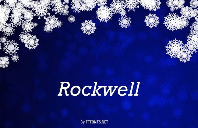 Rockwell example