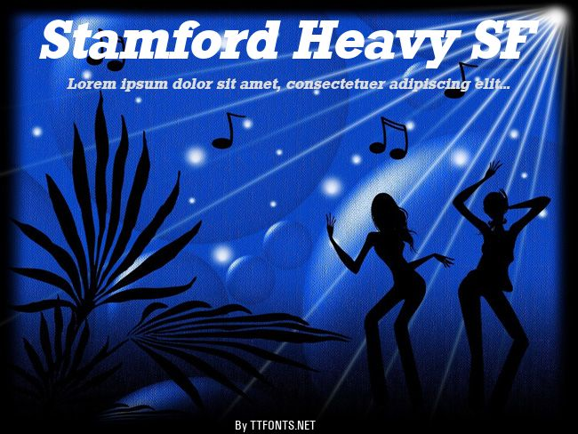 Stamford Heavy SF example