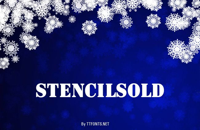 StencilSolD example