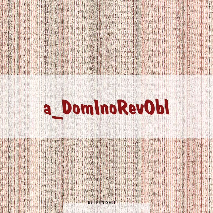 a_DomInoRevObl example